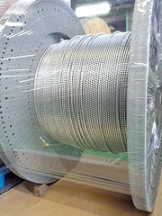 超電導ケーブルフォーマ芯(ケーブルコア)