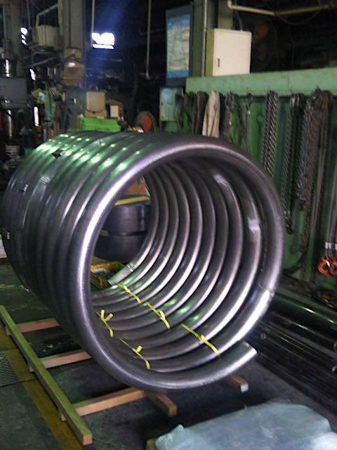 大型のコイル巻管(PCD:1200)